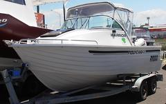 2007 POLYCRAFT 5.30 WARRIOR CUDDY CABIN