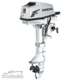 Used 5hp boat motor all boats for Briggs and stratton outboard motor dealers