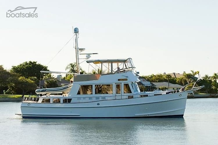 Used 2000 GRAND BANKS 49 MOTOR YACHT Boat For Sale - boatsales.com.au